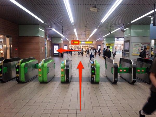 武蔵小金井駅 改札