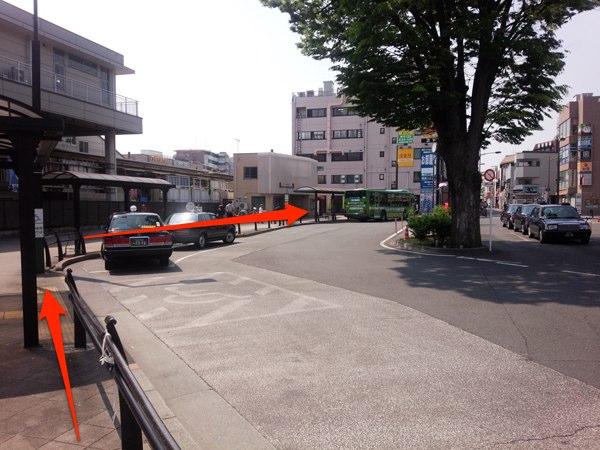 花小金井駅 ロータリー